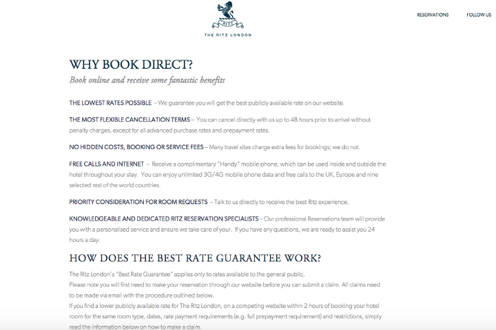 ritz-hotel-direct-booking-advantages