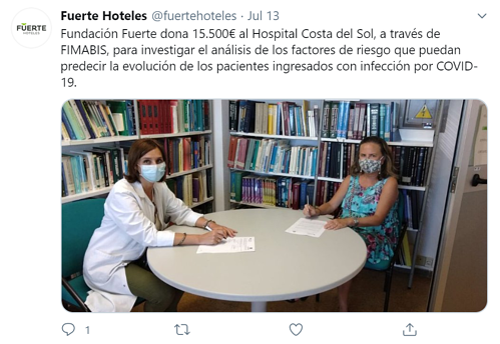 Fuerte hotels twitter