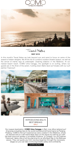 comohotels-email-marketing-strategy